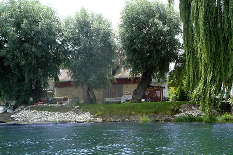0a108bad5d86 Bodensee Ferienwohnung Bader auf der Insel Reichenau - Das Haus
